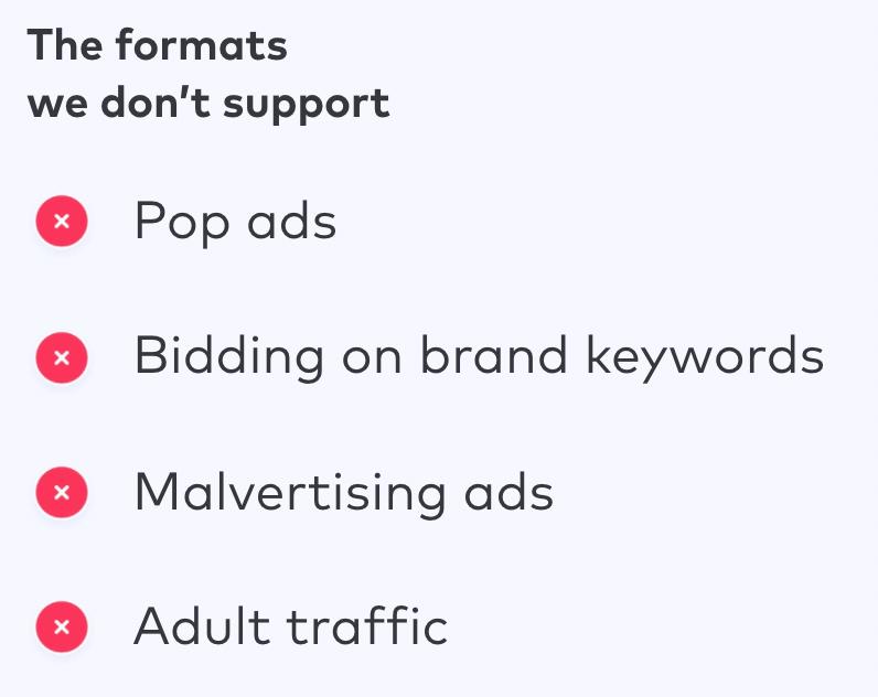 mackeeper advertising guidelines